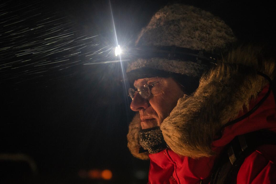 Markus Rex, Expeditionsleiter der MOSAiC-Expedition und Atmosphärenphysiker am Alfred-Wegener-Institut