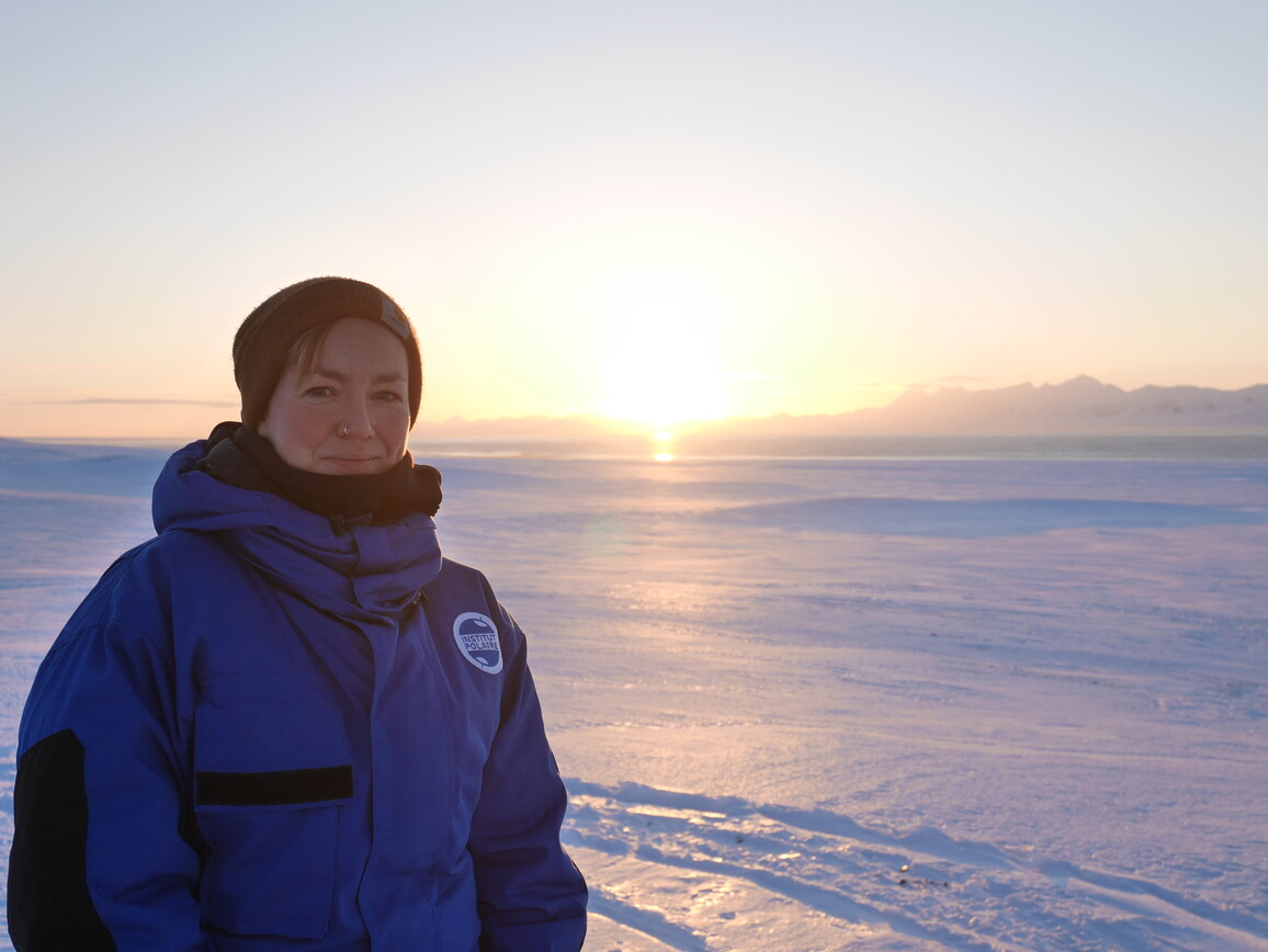 Clara Hoppe, Marine Biogeowissenschaftlerin am Alfred-Wegener-Institut
