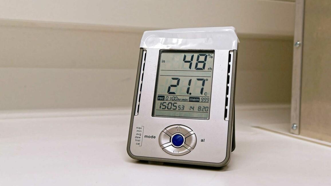 Instrument zur Messung der Luftfeuchtigkeit