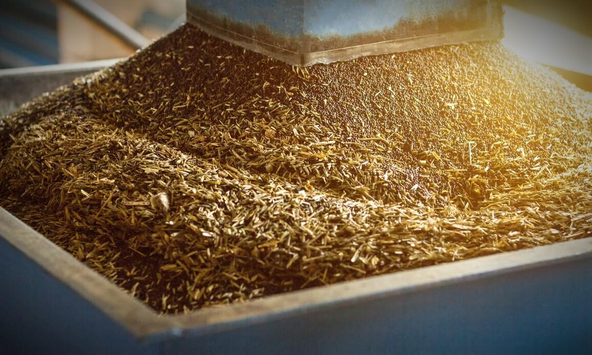 Proteinhaltige Reste bei der Gewinnung von Raps-Öl