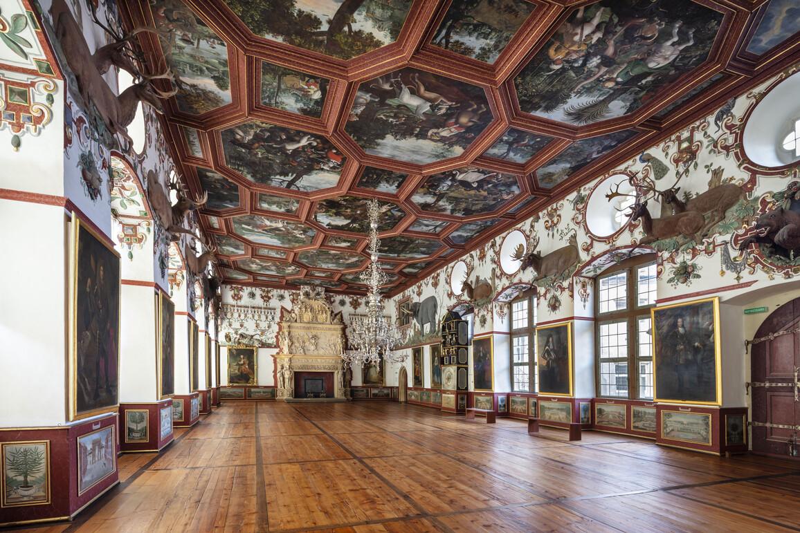 Michael Juncker, Balthasar Katzenberger, Gerhard Schmid, Rittersaal, 1601-1605, Weikersheim, Schloss