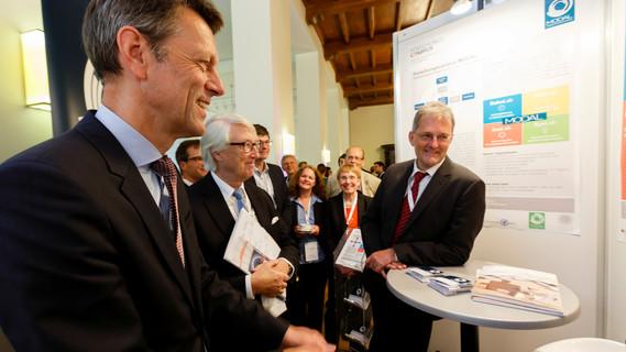 """Staatssekretär Georg Schütte auf der Fachtagung der Begleitforschung zur BMBF-Förderinitiative """"Forschungscampus –öffentlich-private Partnerschaft für Innovationen'"""