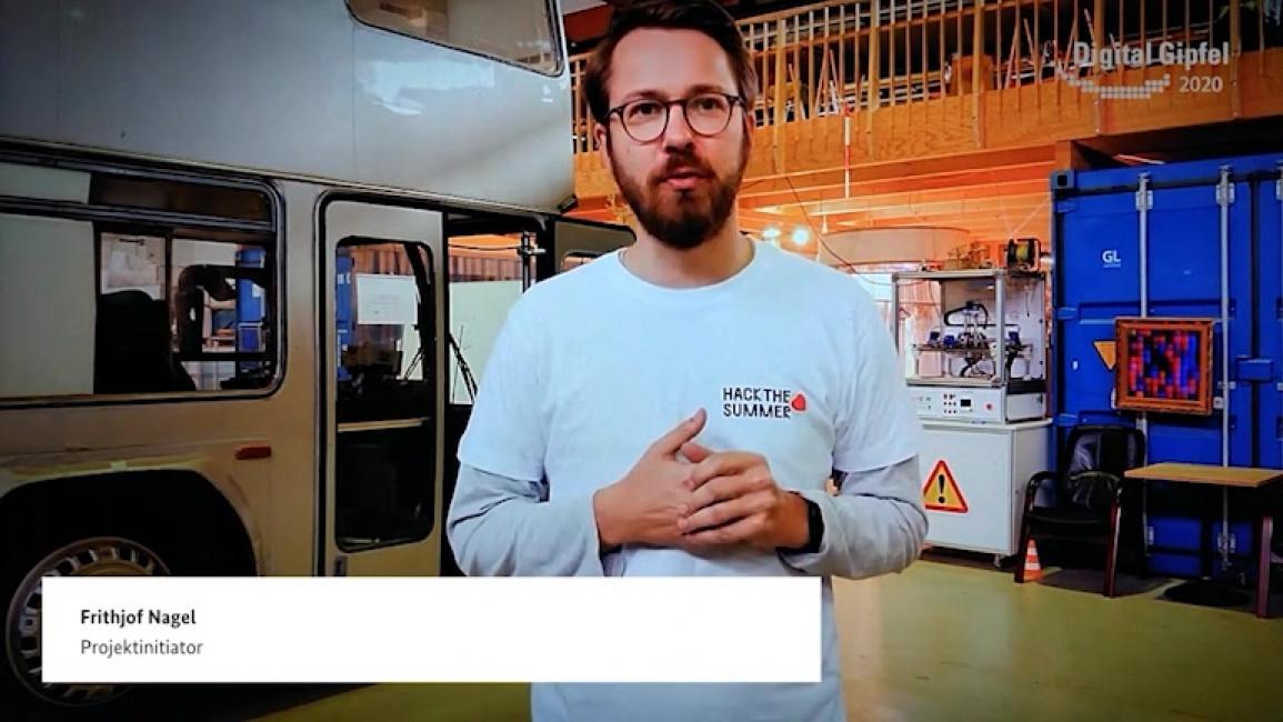 Poster zum Video #HackTheSummer – Digitale Ideen für eine bessere Welt