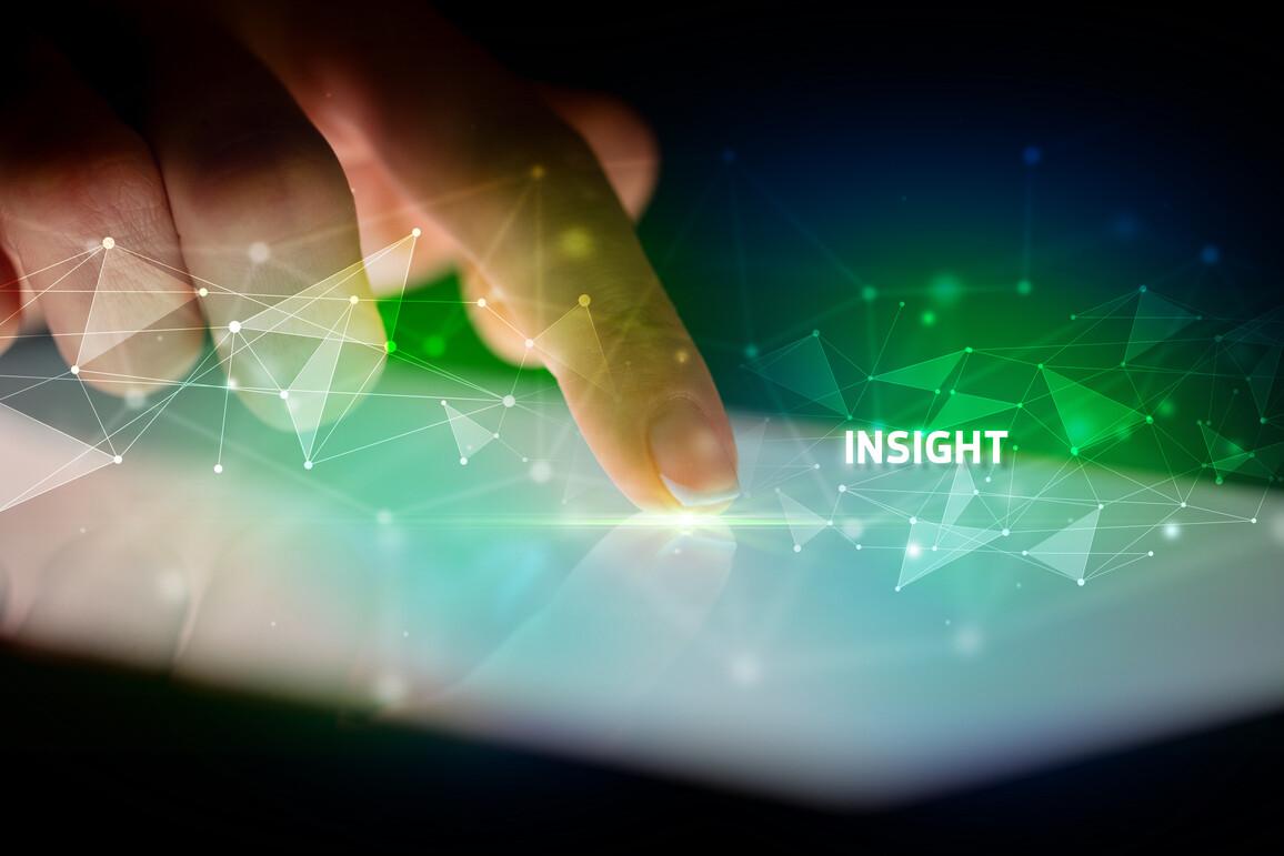 Fingerzeig löst Reaktion (Insight) aus
