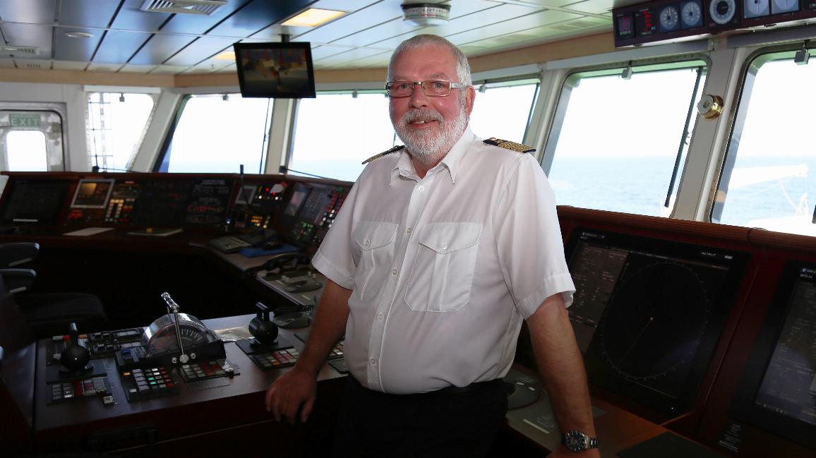 Kapitän Lutz Mallon