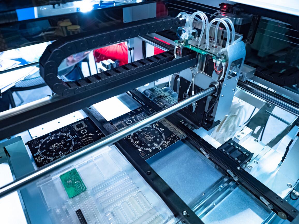 Ausrüstung zum Drucken von Stromkreisen