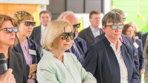 Johanna Wanka besucht die RWTH Aachen
