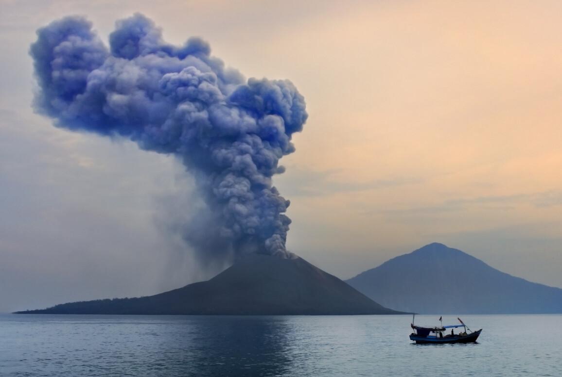 Eruption des Anak Krakatau: Der Vulkan zählt zu den vulkanischen Hotspots der Erde