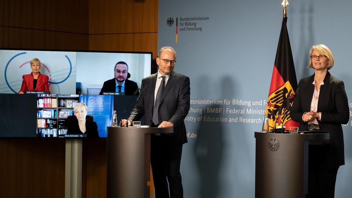Pk: Aufbau von zwei neuen Deutschen Zentren der Gesundheitsforschung