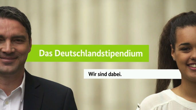 Poster zum Video Imagefilm zum Deutschlandstipendium