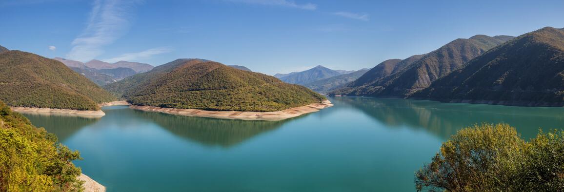 Zhinvali Reservoir, Georgien