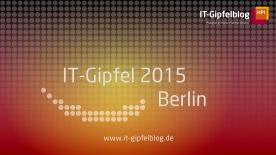 Poster zum Video IT-Gipfel 2015: Johanna Wanka über die Entwicklung der IT in Forschung und Wirtschaft