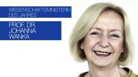 Poster zum Video Wanka ist Wissenschaftsministerin 2014