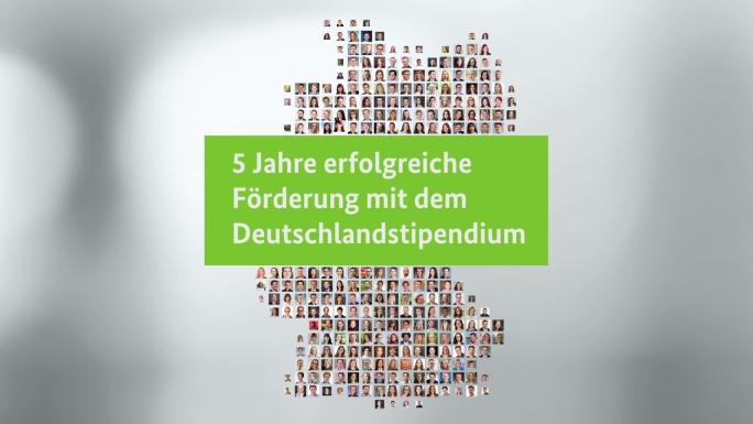 Poster zum Video Bilanzfilm zum Deutschlandstipendium