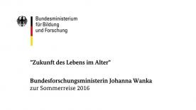 Poster zum Video Bundesministerin Johanna Wanka über \