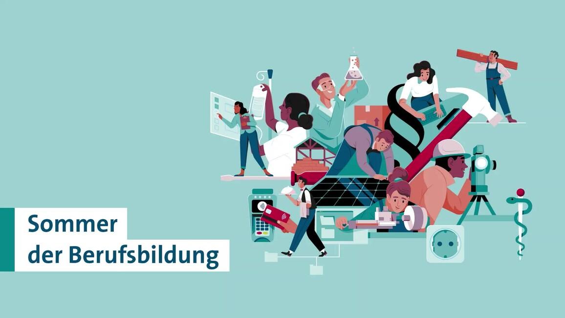 Poster zum Video Sommer der Berufsbildung