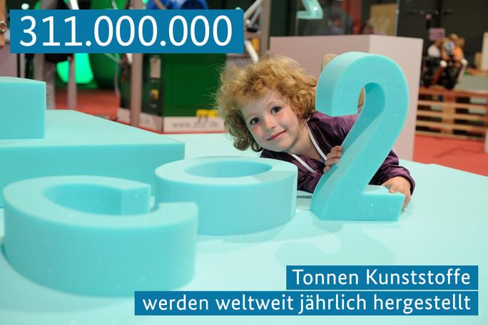 311.000.000 Tonnen Kunststoffe werden jährlich hergestellt