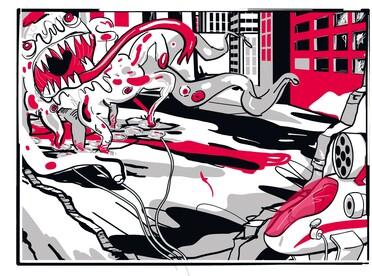 Ihn gilt es für Lasergirl zu jagen: den Killerkeim
