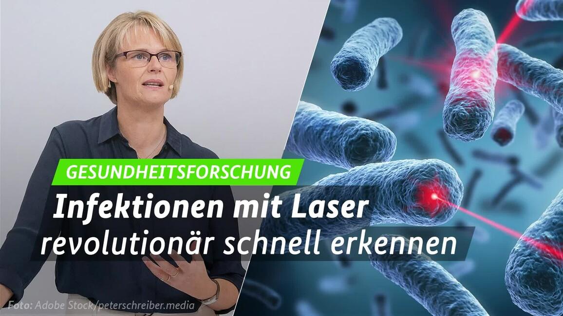 Poster zum Video Pressekonferenz \'Lasergirl\'