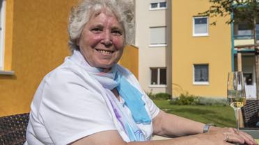 Im Rahmen ihrer Sommerreise besuchte Bundesministerin Johanna Wanka die Chemnitzer Siedlungsgemeinschaft
