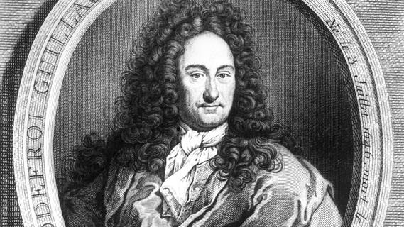 Gottfried Wilhelm Leibniz. Étienne Ficquet, 1745