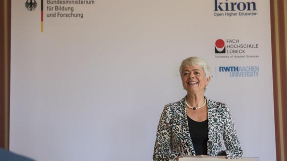 'Dieses Format hat das Potential, Pilotprojekt für die Ansprache Studieninteressierter aus dem Ausland zu sein', sagte Staatssekretärin Quennet-Thielen.