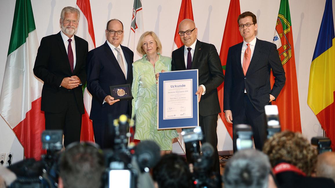 Verleihung Meerespreis