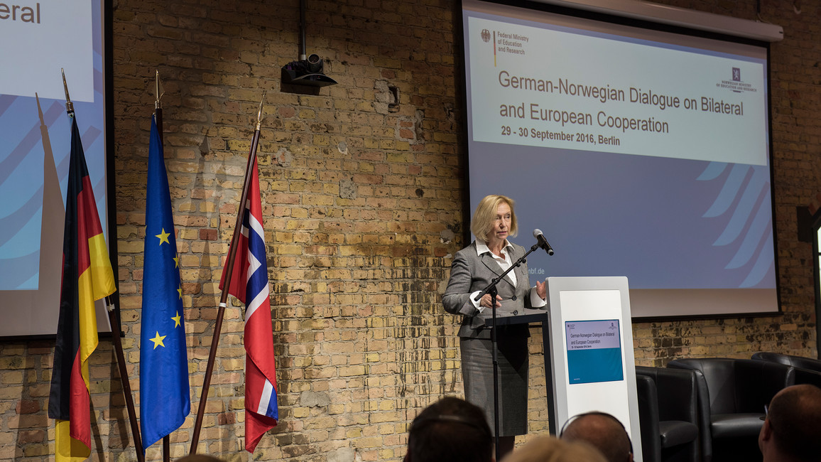 Dialog mit Norwegen