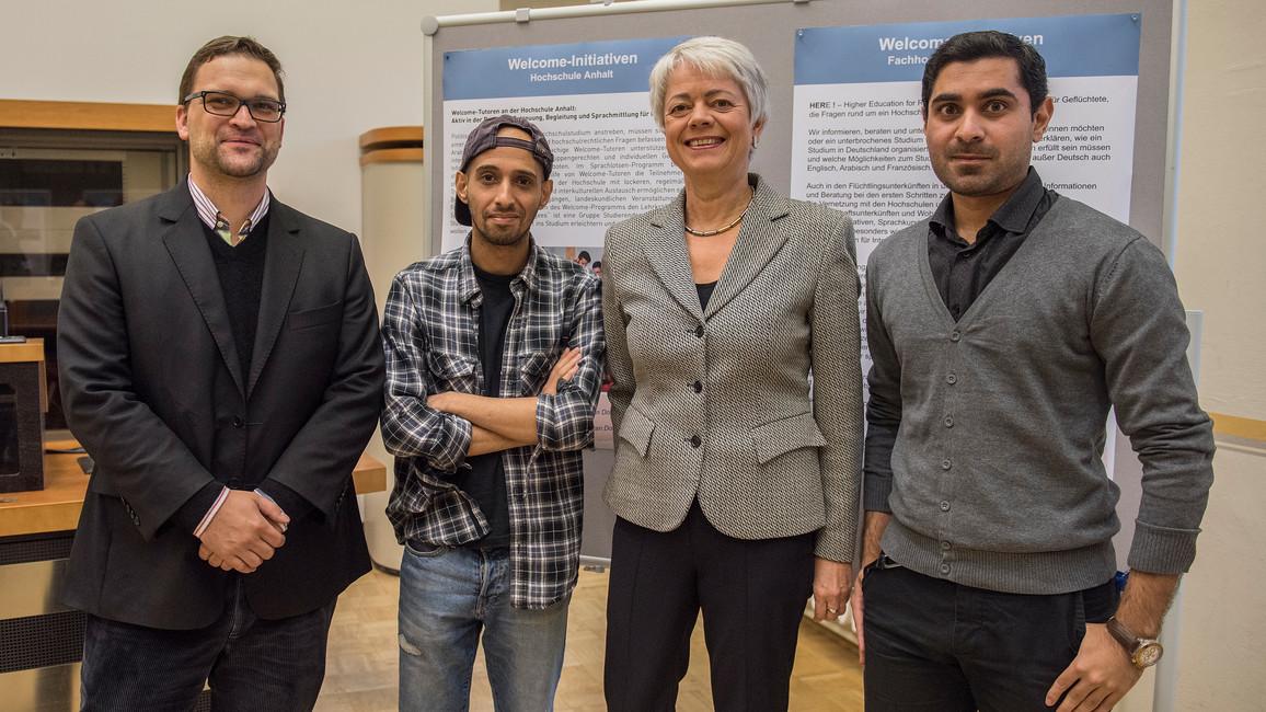 Hochschulprogramm für Flüchtlinge