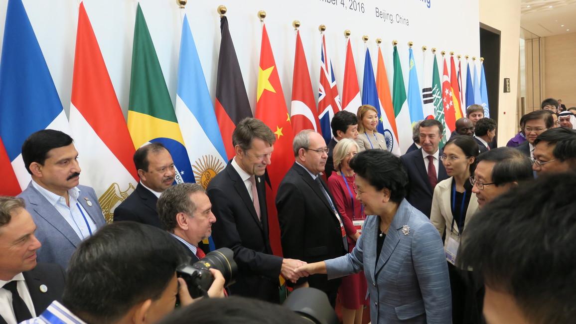 Staatssekretär Georg Schütte vertrat Deutschland auf dem G20-Treffen der Wissenschaftsminister in China.