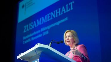 Bundeskonferenz Bildungsmanagement: Die Bundesministerin spricht