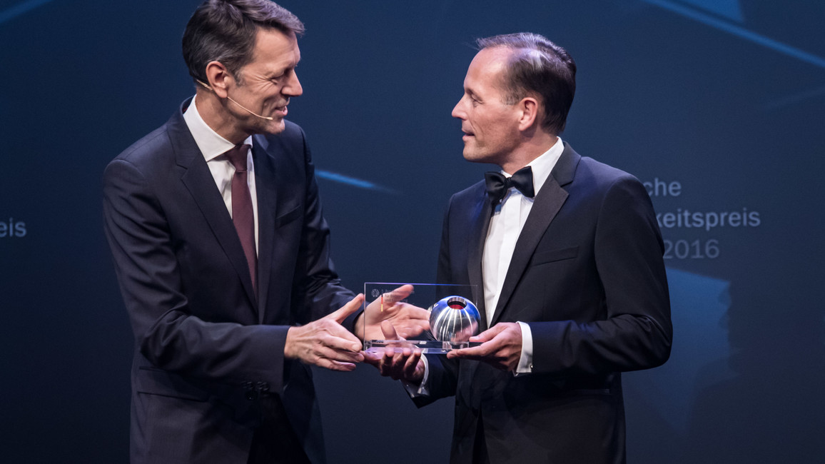 Preisverleihung Deutsche Nachhaltigkeitspreis Forschung