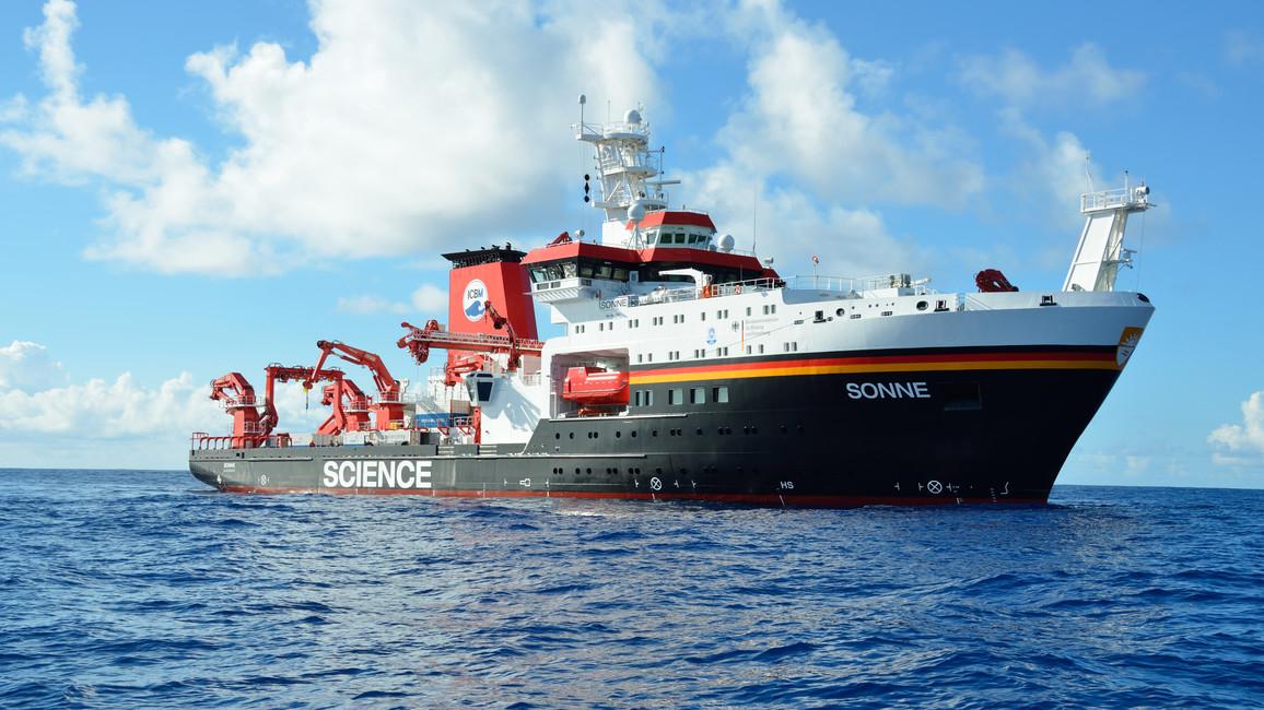 Forschungsschiff SONNE