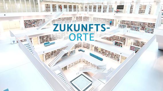 Blick in die Stuttgarter Bibliothek