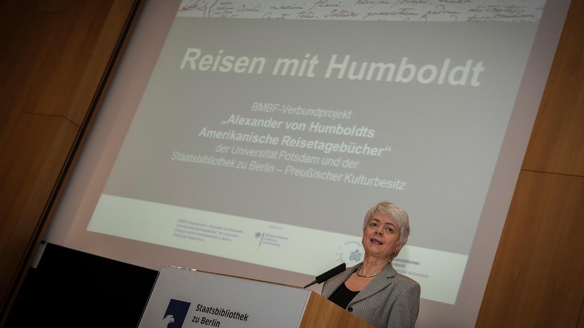 Humboldt-Nachlass im Internet veröffentlicht - BMBF