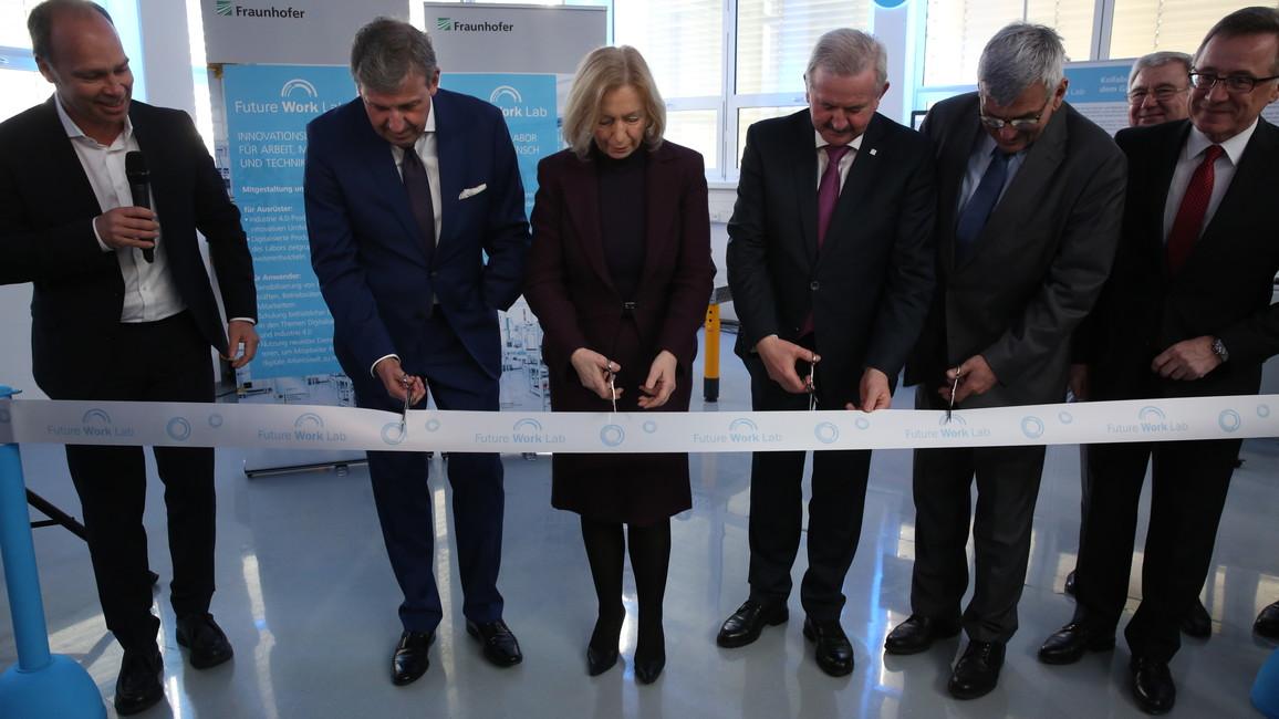 Eröffnung des Future Work Lab in Stuttgart