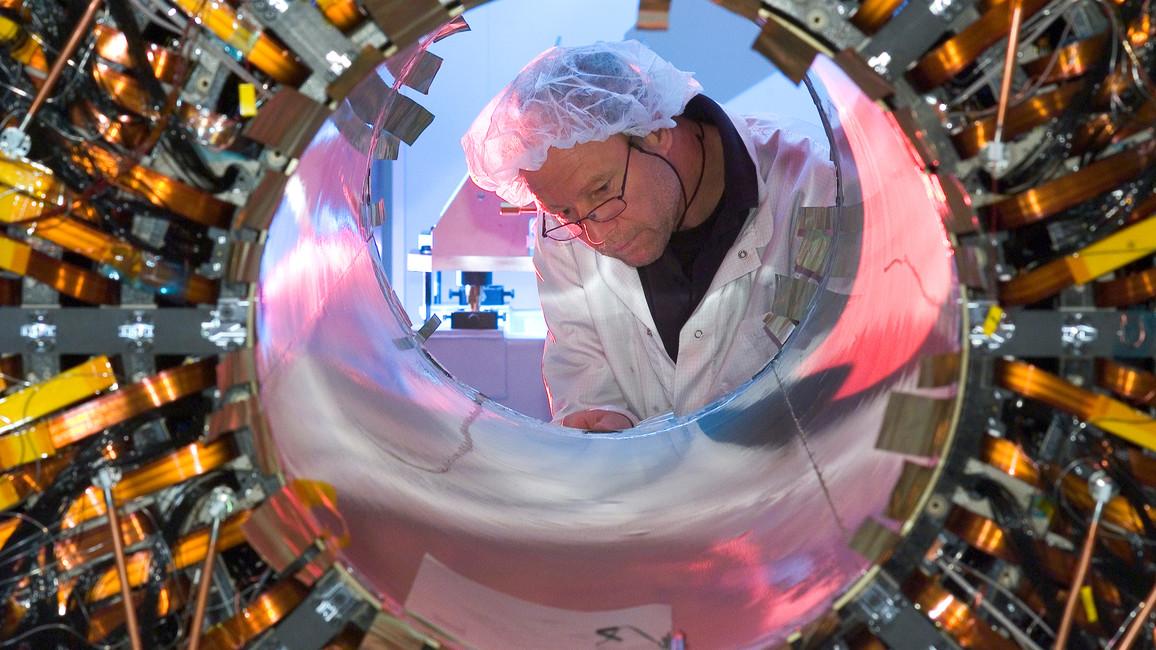 Deutsches Know-How für die Entdeckung des Higgs-Teilchens: Universitäten treiben das ATLAS-Experiment am LHC in Genf voran – gefördert durch die BMBF-Verbundforschung.