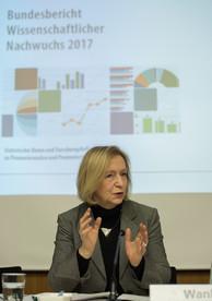 Vorstellung des Bundesberichts Wissenschaftlicher Nachwuchs 2017