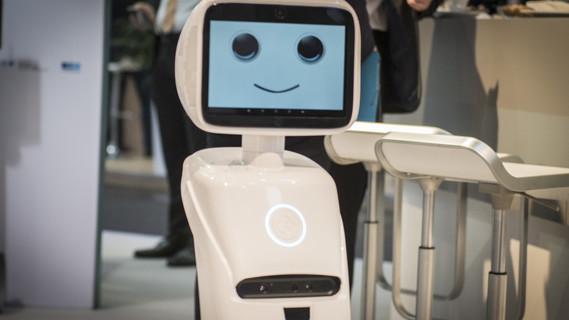 RoboLand am Stand des BMBF