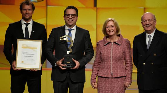 Der Hermes Award 2017 geht an die SCHUNK GmbH & Co. KG.