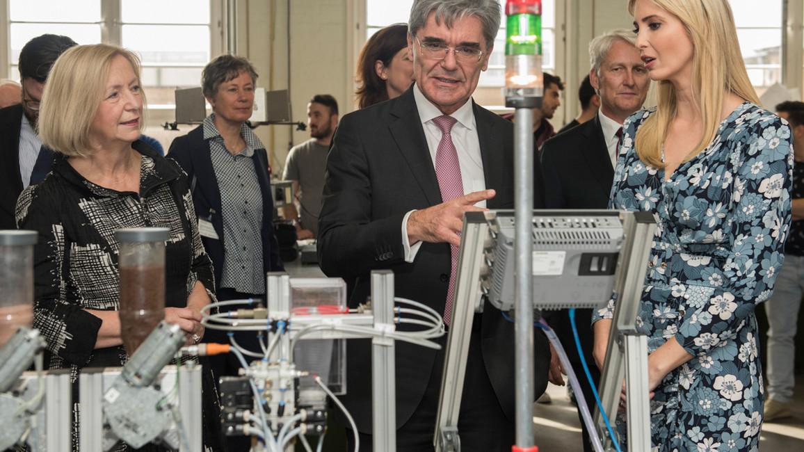 Besuch in der Technikakademie von Siemens