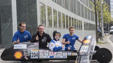 """""""ThaiGer H2 Racing"""" nennt sich das Team der Hochschule Stralsund. Die Studierenden und ihre Professoren forschen dort an regenerativen Energiesystemen."""