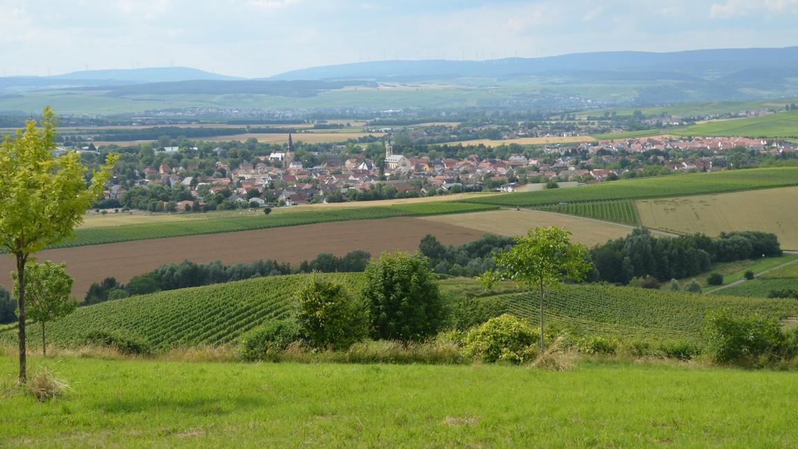 Blick auf die Null-Emissions-Gemeinde Sprendlingen-Gensingen