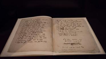 Martin Luther: Vom Himmel kam der Engel Schar; spätestens 1543; Handschrift auf Papier; Österreichische Nationalbibliothek Wien