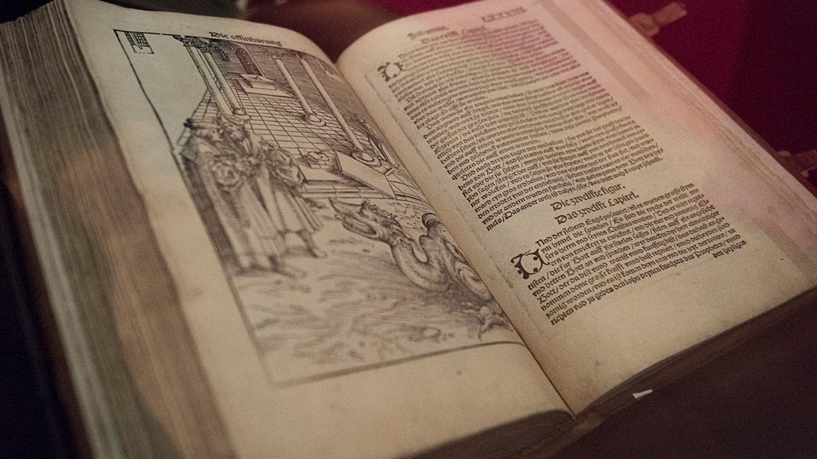 Dezembertestament von Martin Luther; 1522; Druck auf Papier; Stiftung Luthergedenkstätten in Sachsen-Anhalt