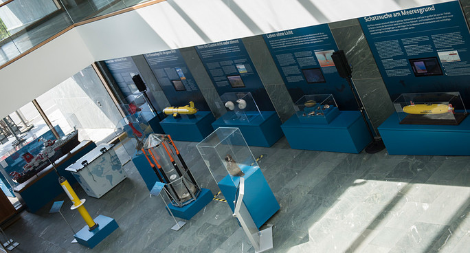 Im dritten Teil der Ausstellung