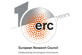 Logo zu 10 Jahre European Research Council