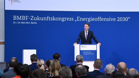 "In Berlin fand der BMBF-Zukunftskongresses ""Energieoffensive 2030"" statt."