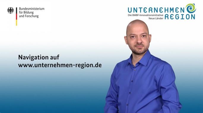 Poster zum Video Navigation auf www.unternehmen-region.de