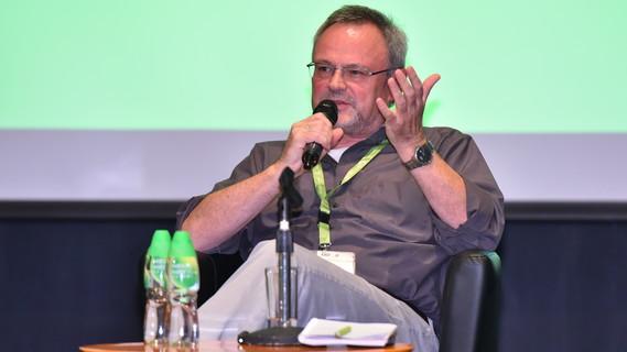 Jürgen Handke im Gespräch